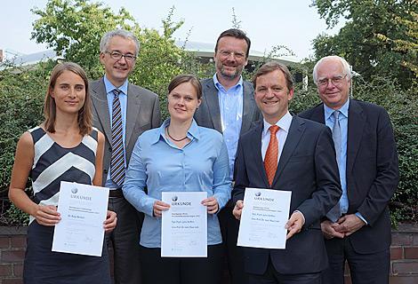 Gruppenbild der Preisträger 2013