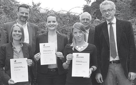 Gruppenbild der Preisträger 2014